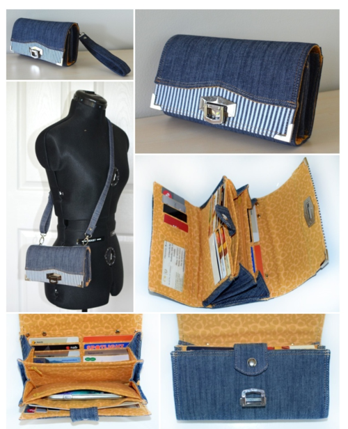 The Penny Inn  Wallet - A ChrisW Designs PDF Sewing Pattern