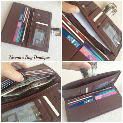 Norma's Pick A Pocket Wallet