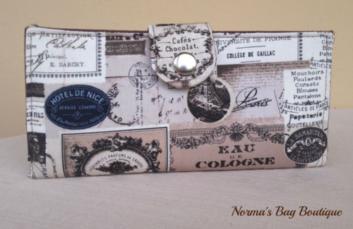 The exterior of Norma's Pick A Pocket wallet