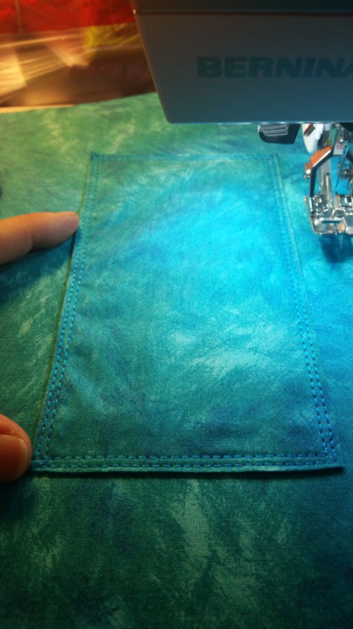 Top-stitching 4