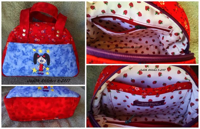Judith's Small Bodacious Bowler Bag