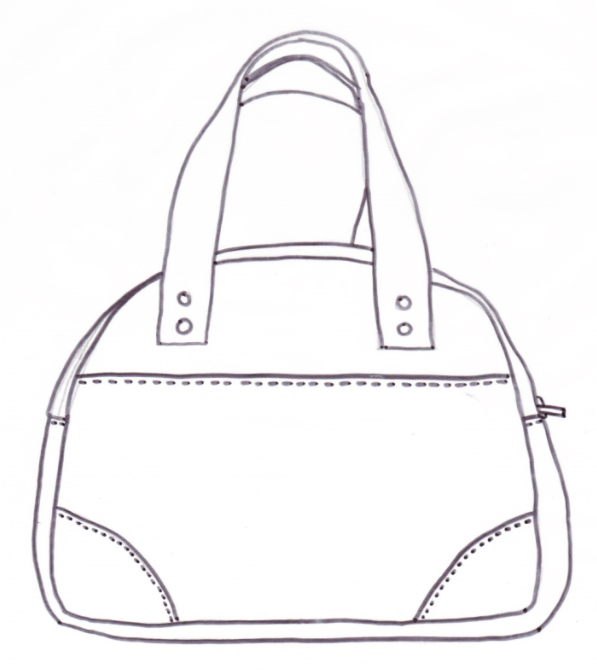 Bodacious Bowler - a PDF bag sewing pattern by ChrisW Designs