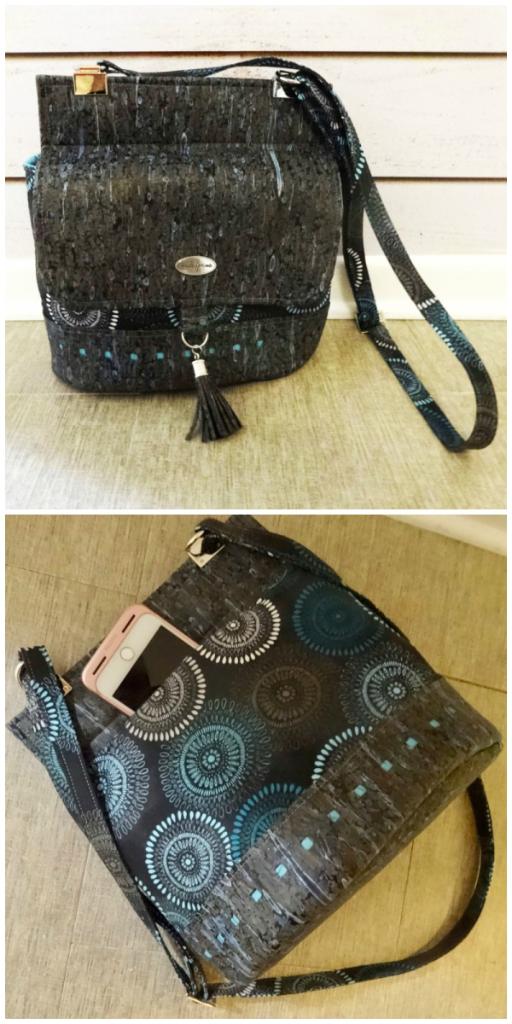 Nancy's Podium Collage - A ChrisW Designs PDF Bag Sewing Pattern