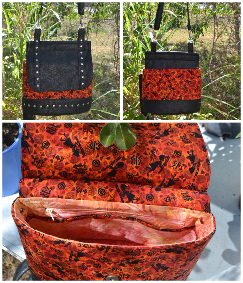 Sas's Podium Collage - A ChrisW Designs Intermediate Bag Sewing Pattern