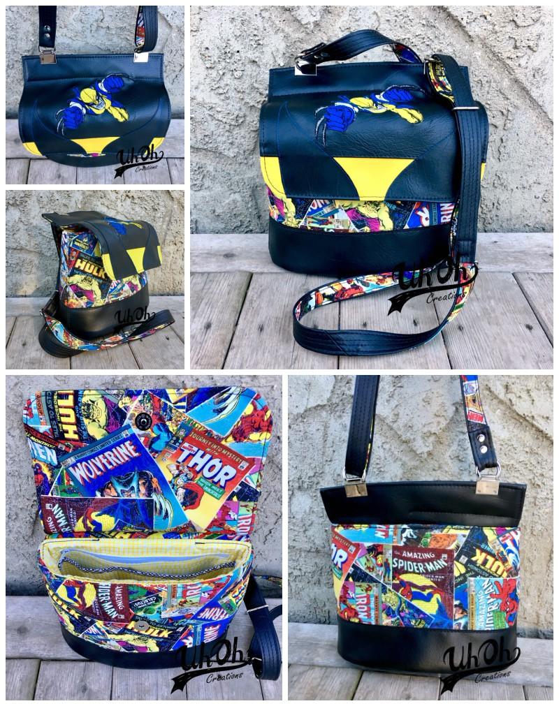 Tara's Podium Collage - A ChrisW Designs PDF Bag Sewing Pattern