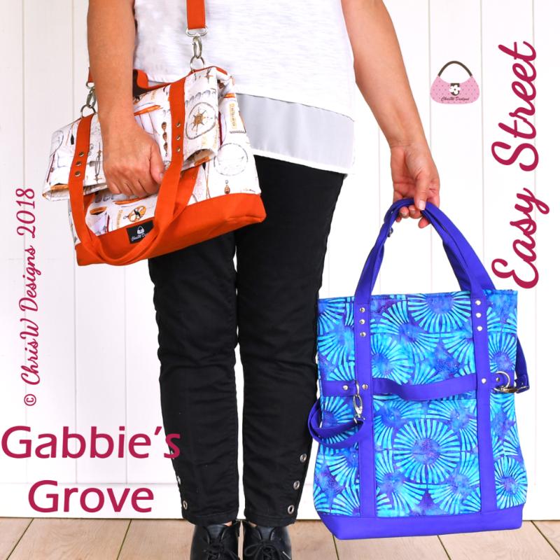 Gabbie's Grove - A ChrisW Designs PDF Bag Sewing Pattern