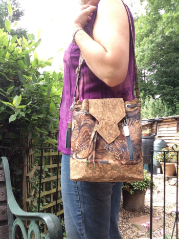 Fiona's Freeway in use - A ChrisW Designs PDF Bag Sewing Pattern
