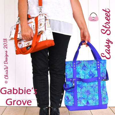Gabbie's Grove - A ChrisW Designs PDF Bag Sewing Pattern