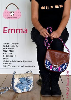Emma - A ChrisW Designs PDF Bag Sewing Pattern