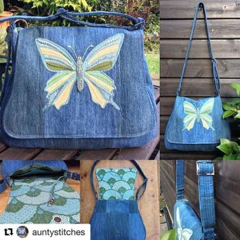 Karen's Genevieve - A ChrisW Designs PDF Bag Sewing Pattern