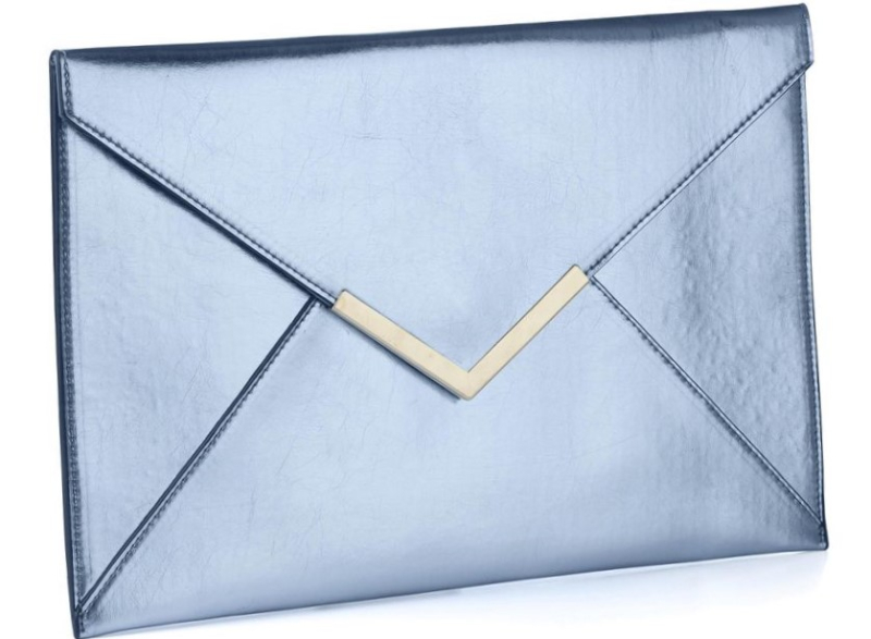 Simply-be-BLUE-Metallic-Envelope-Clutch-Bag