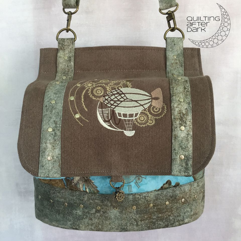 Quilting After Dark - The Podium - A ChrisW Designs Bag Sewing Pattern