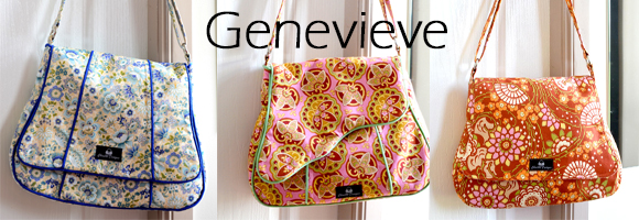 Genevieve - The pattern comes with 3 flap options! Piping or no piping!