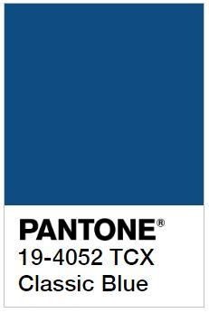 PANTONE 19-4052 TCX Classic Blue