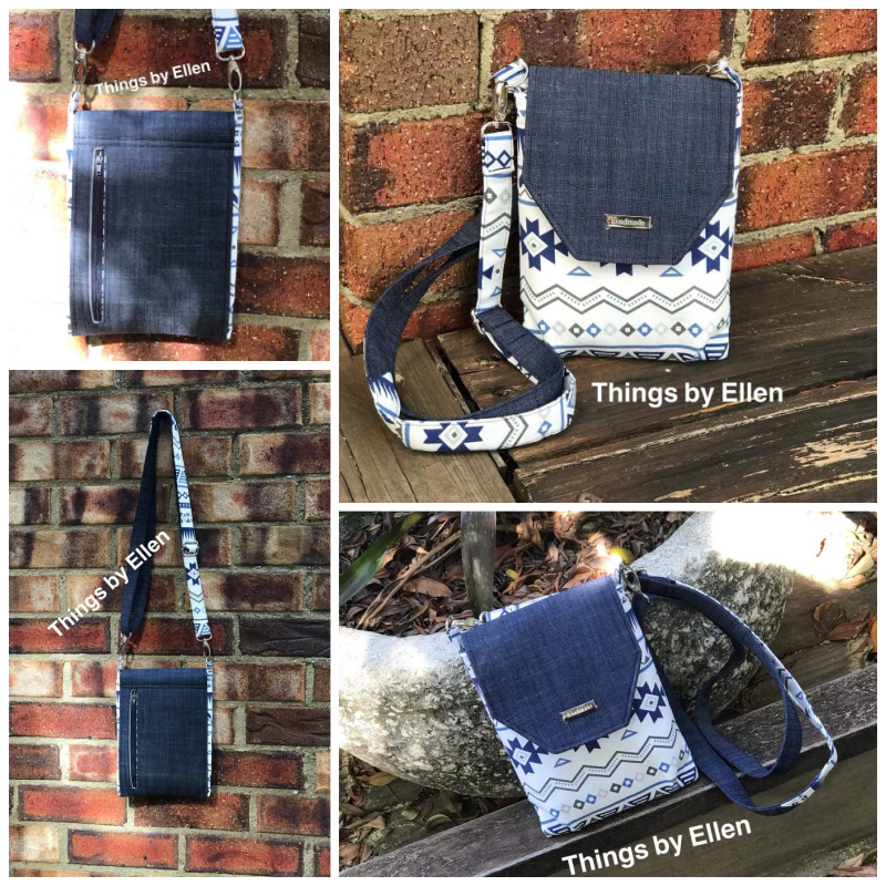 The Sneaky Satchel by Ellen - A ChrisW Designs Sewing Pattern