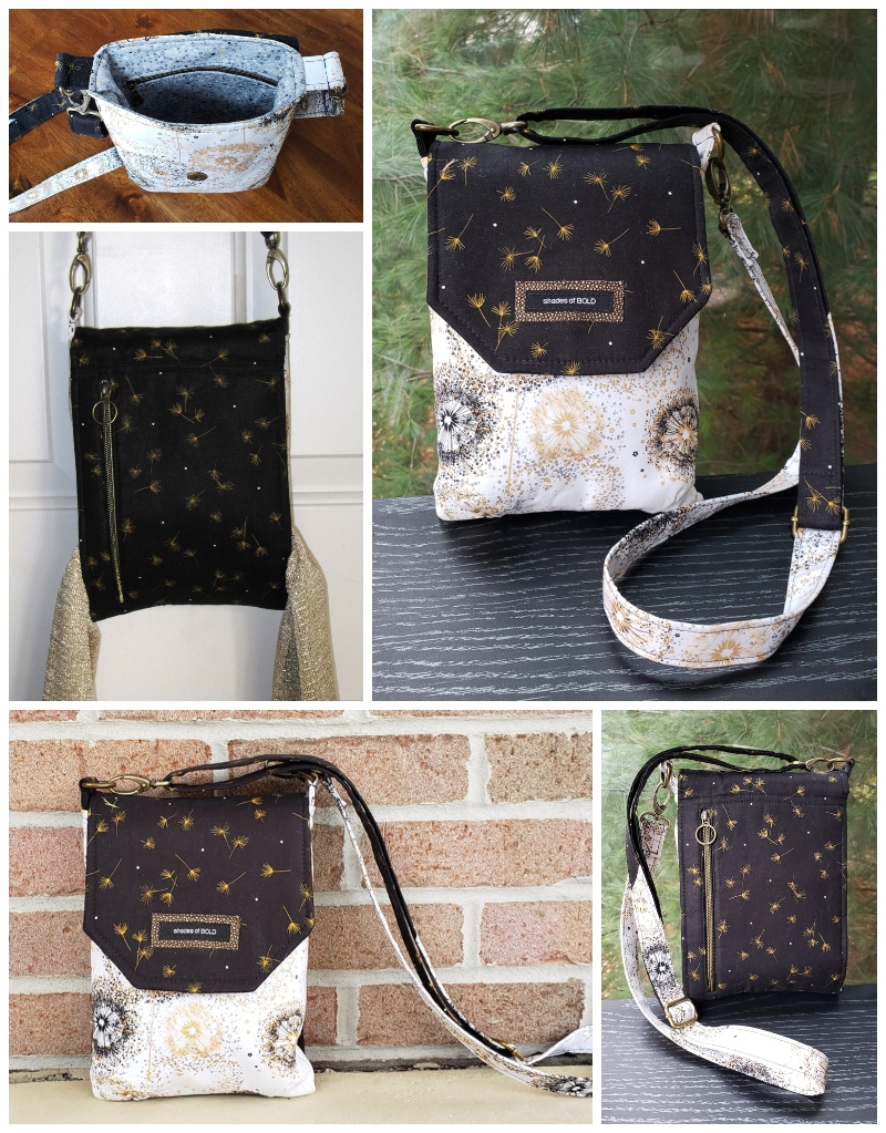 The Sneaky Satchel by Marilyn - A ChrisW Designs pattern from the Minimise to Maximise Collection