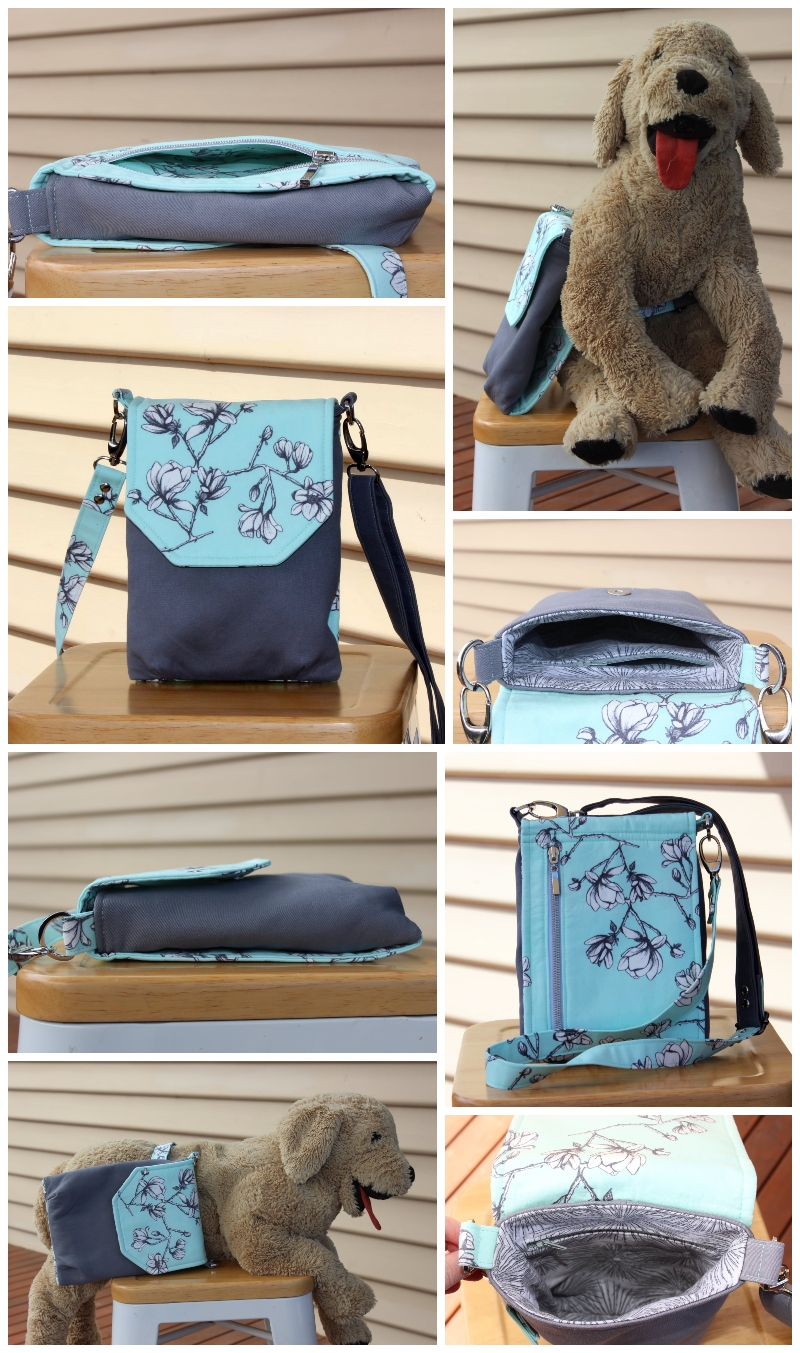 The Sneaky Satchel by Annie - A ChrisW Designs pattern from the Minimise to Maximise Collection