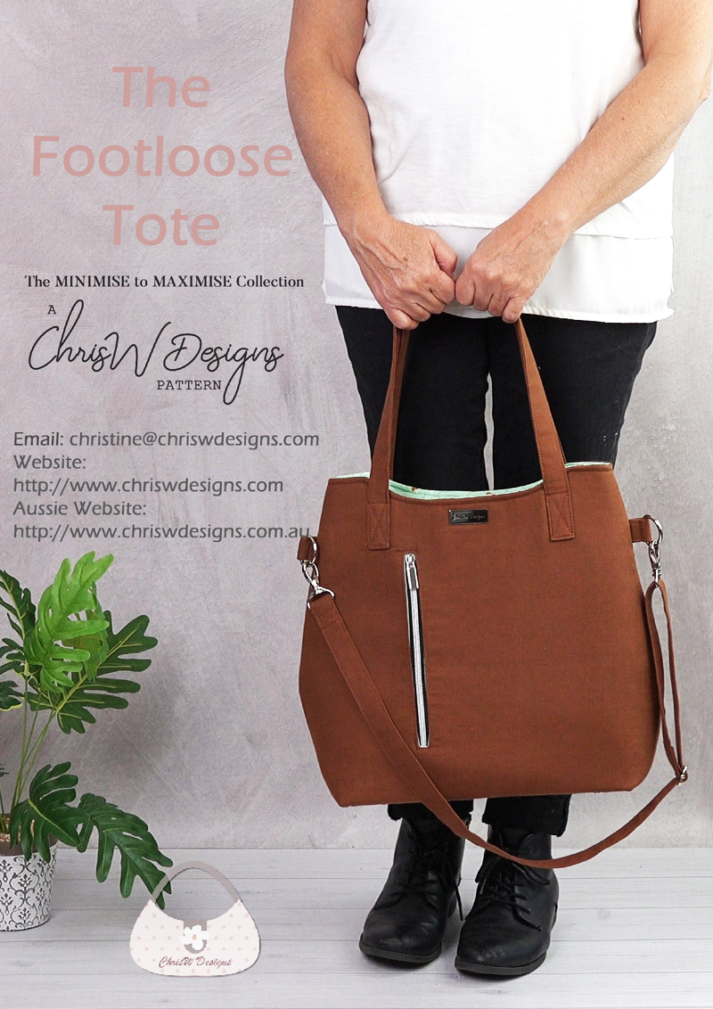 The Footloose Tote by ChrisW Designs